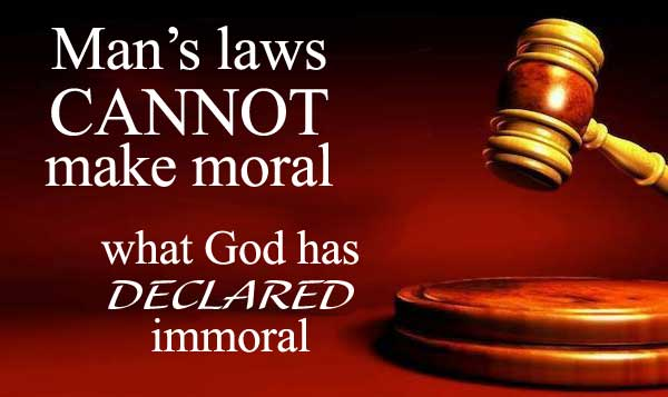 Obey God Rather Than Men