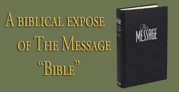 "The Message ""Bible"""
